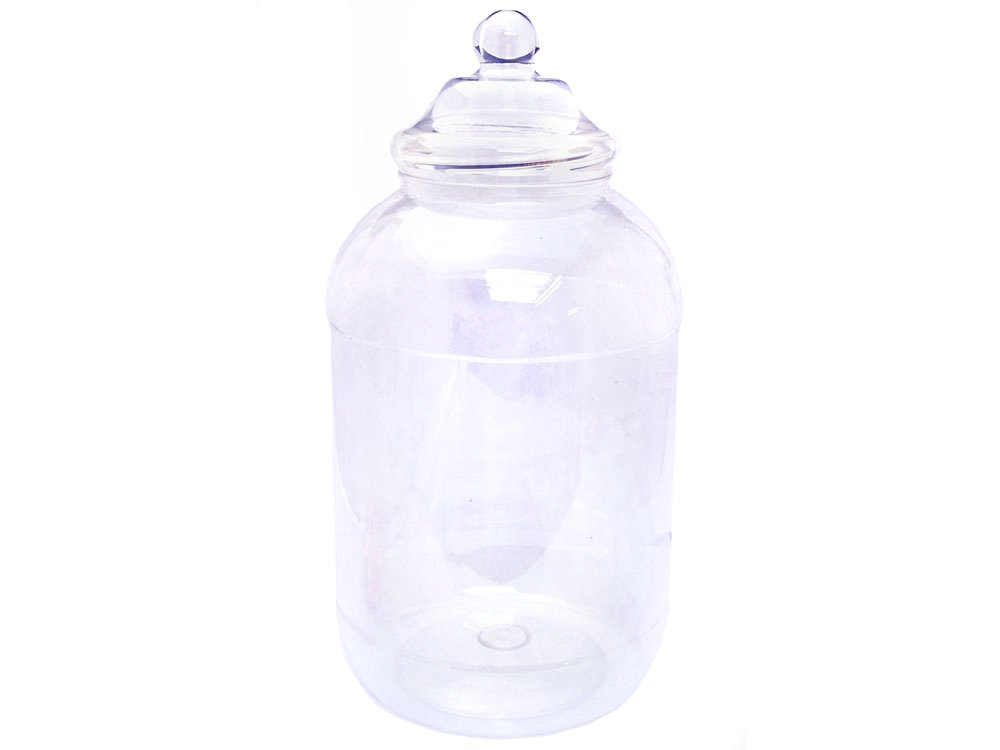 6Ltr Plastic Sweets Jar | Plastic Sweet Jars | Keep It Sweet