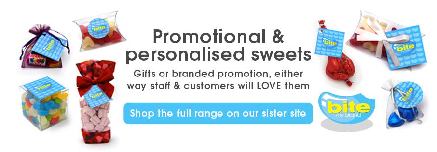 Personalised & Promotional Sweets UK - Custom, Branded, Logo