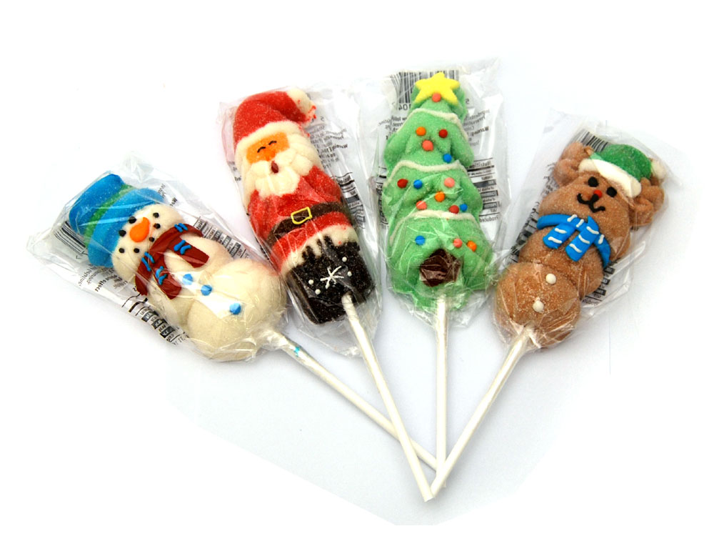 Christmas Mallow Lollies | Christmas Sweets | Keep It Sweet
