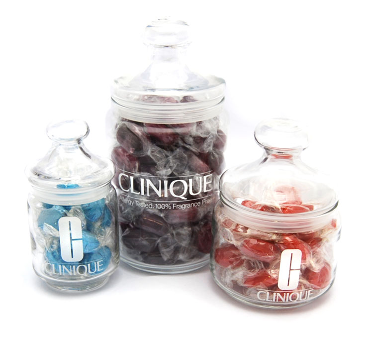 Printed Glass Jars | Promotional Sweets