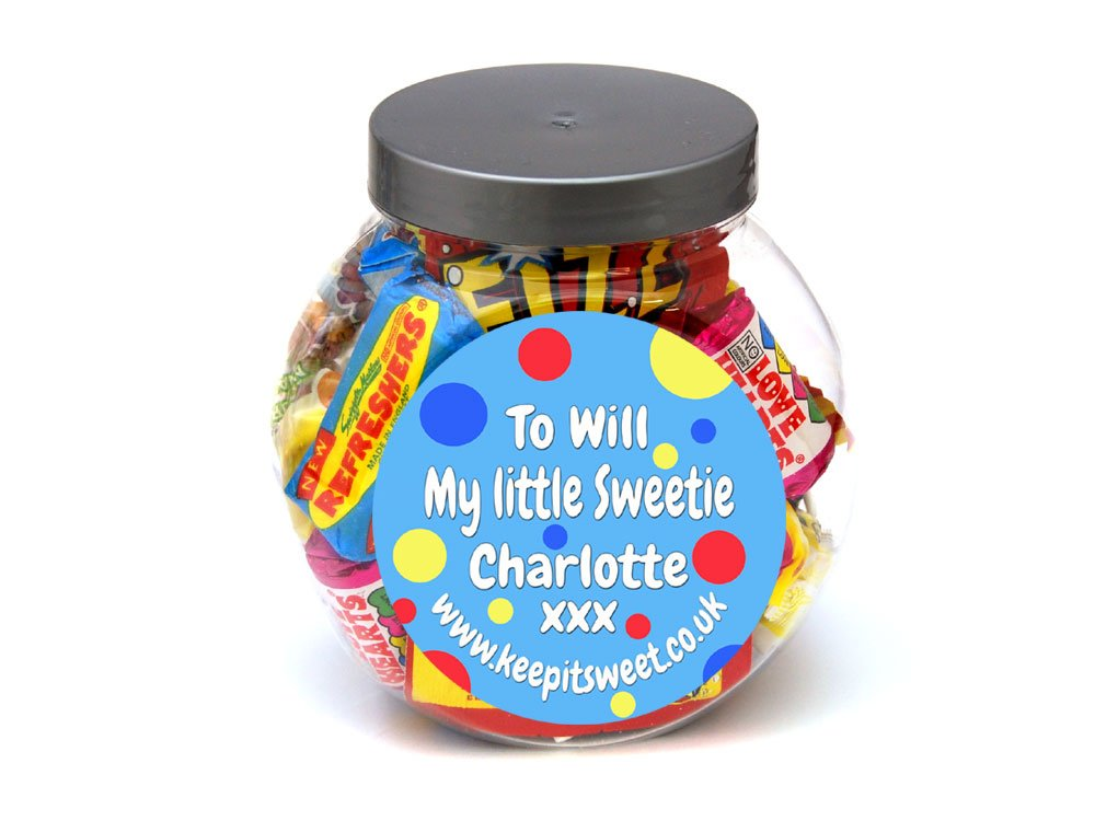 Personalised Jar | Personalised Sweets | Keep It Sweet
