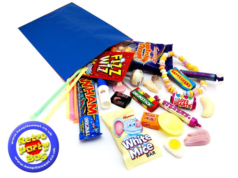 Retro Party Bag | Party Bags | Keep It Sweet