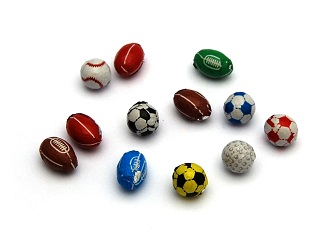 Chocolate Sports Balls | Olympics 2016 | Keep It Sweet