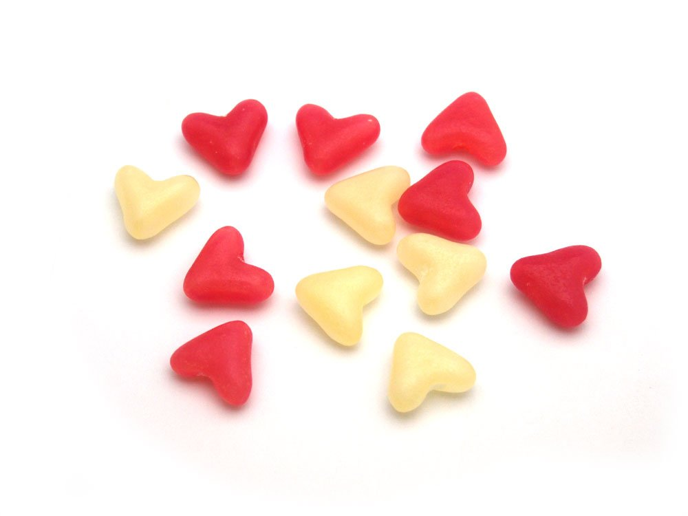 Jelly Bean Hearts | Personalised Sweets for Weddings | Keep It Sweet