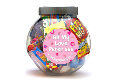 A baby shower to remember with personalised sweets