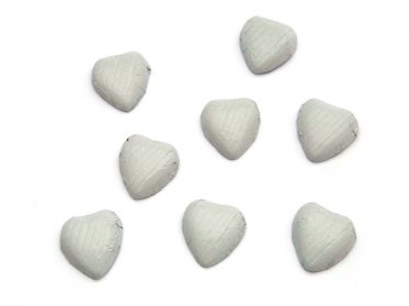 Chocolate Hearts White
