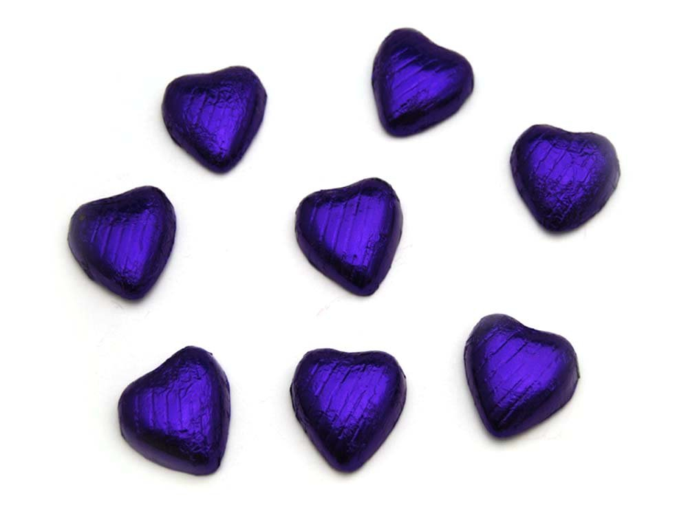 Chocolate Hearts Purple
