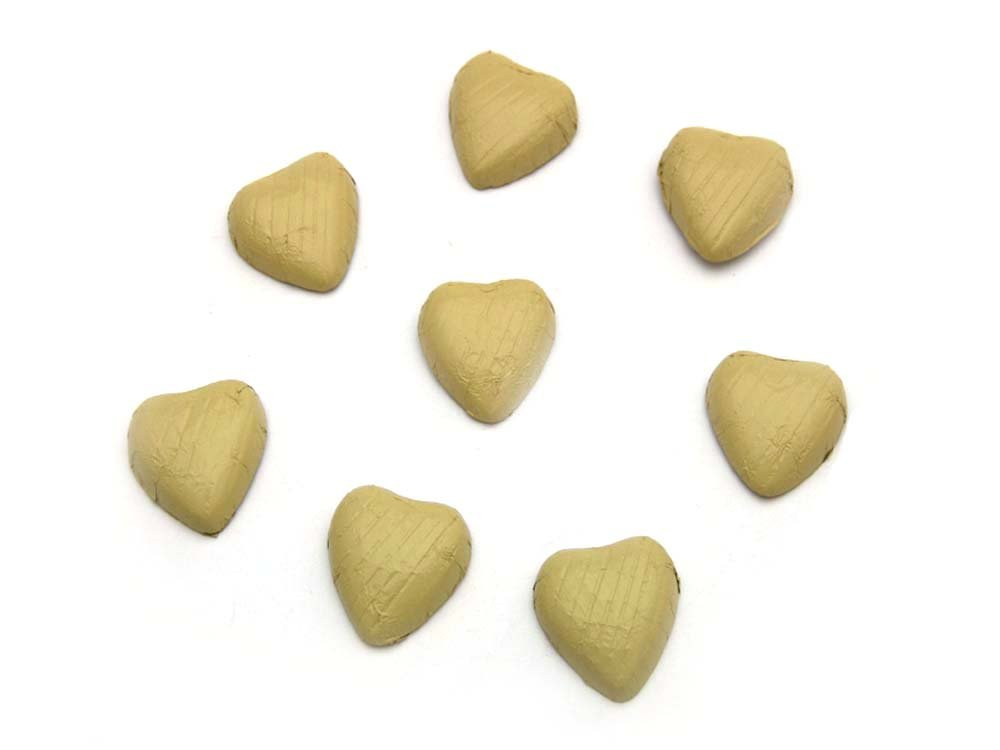 Chocolate Hearts Ivory/Cream