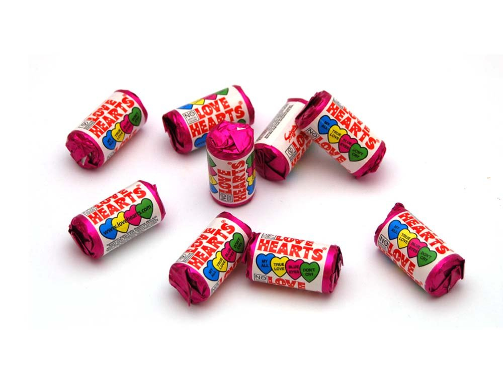 Mini Love Hearts | Tuck Shop Sweets | Keep It Sweet