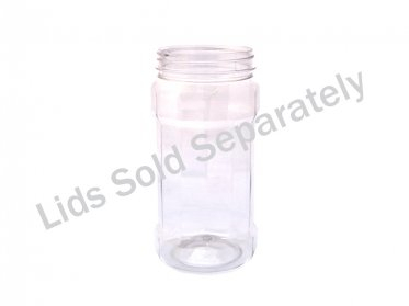 580ml Decagon Jar 70mm Neck