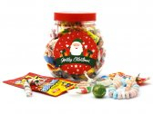 Christmas Personalised Sweet Jar Small