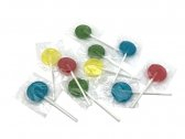 Flat Round Lollies Multicoloured