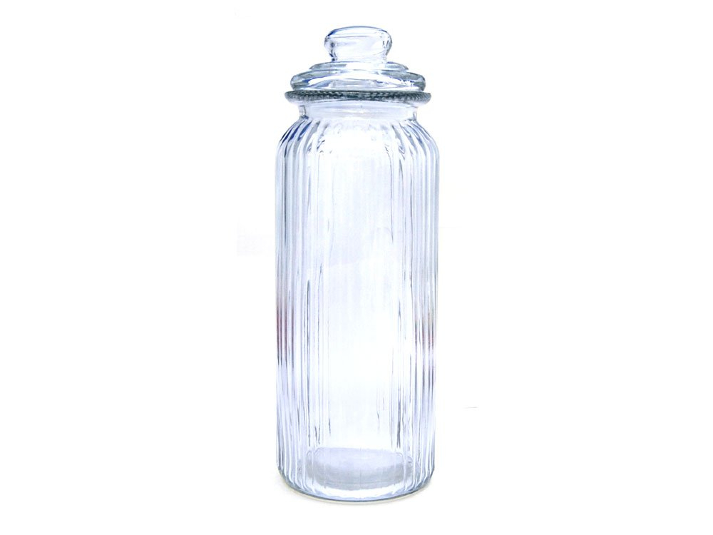 Boutique Glass Sweet Jar 2ltr