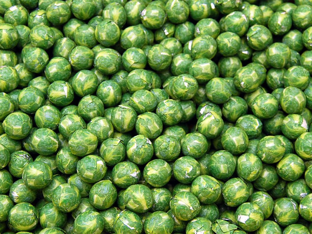 Chocolate Flavour Brussel Sprouts