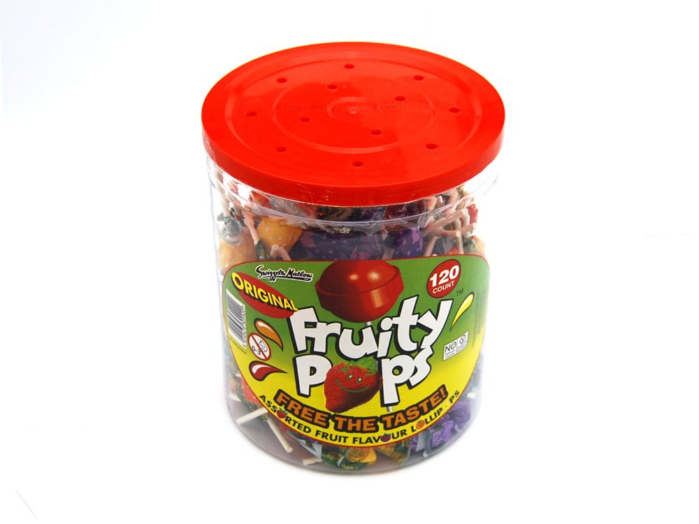 Fruity Pops Bulk Tub