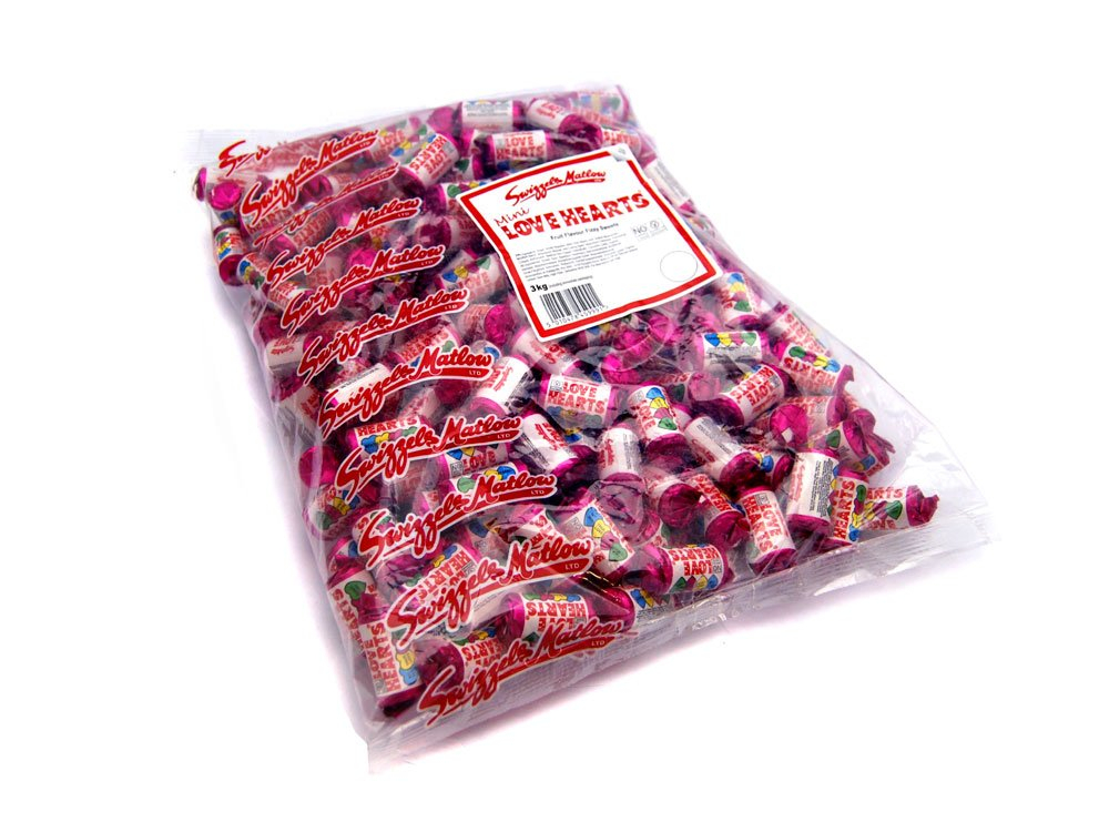 Mini Love Hearts Bulk Bag