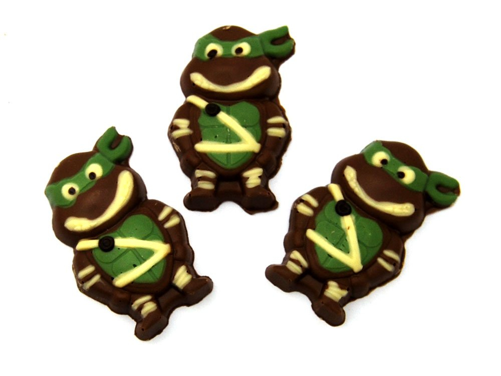 Chocolate Ninja Turtles