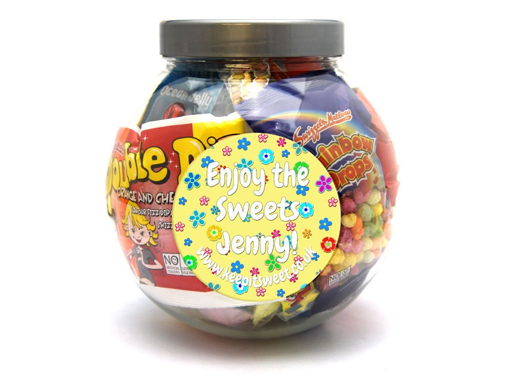 Easter Personalised Sweet Jar Large