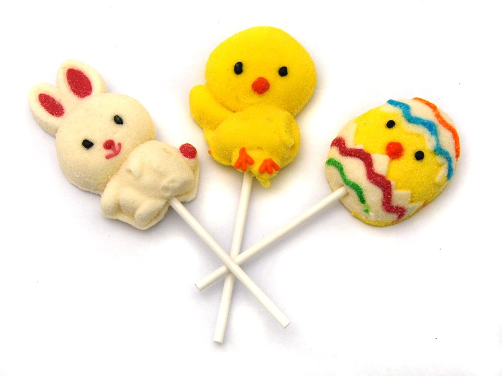 Easter Marshmallow Lolly