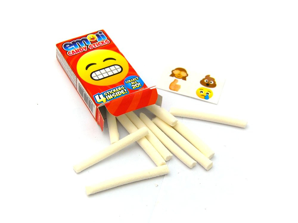 Emoji Candy Sticks