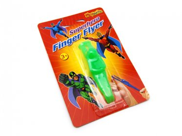 Super Hero Finger Flyer