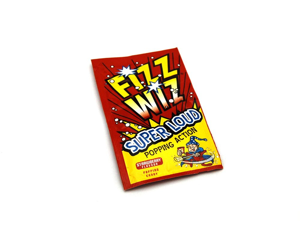 Fizz Wiz Strawberry | Retro Sweets | Keep It Sweet