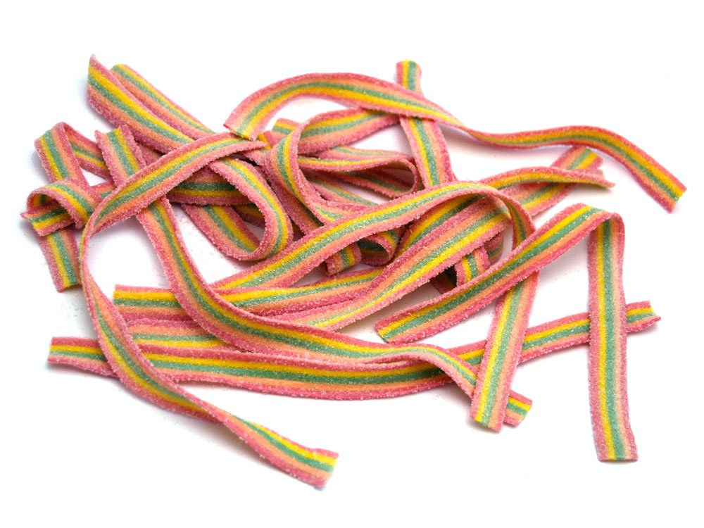 Fizzy Belts - Fruit/Rainbow