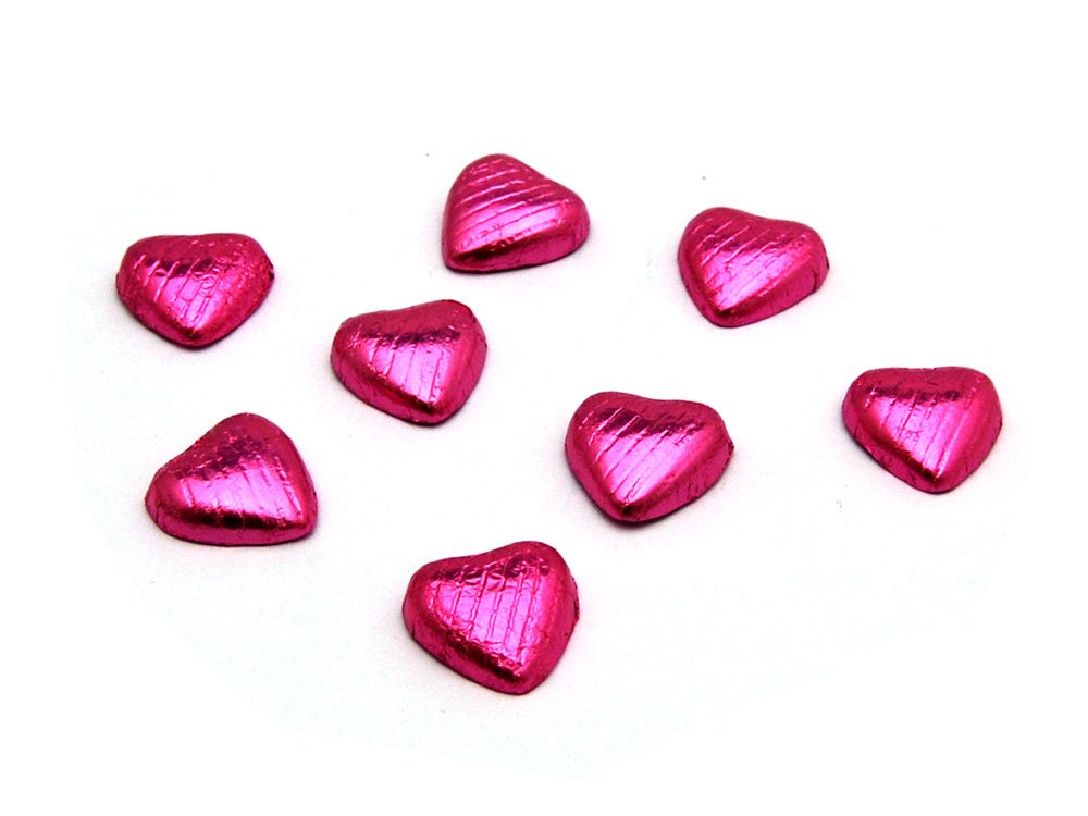 Chocolate Hearts Pink
