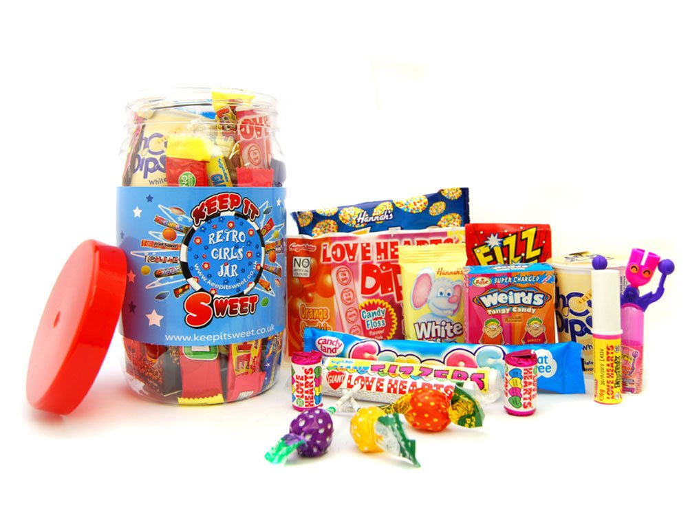 Girls Sweetie Jar 3Ltr
