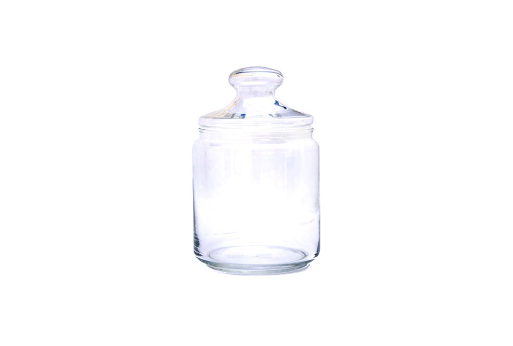Glass Sweet Jar 1ltr