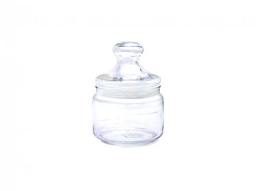 Glass Sweet Jar 500ml
