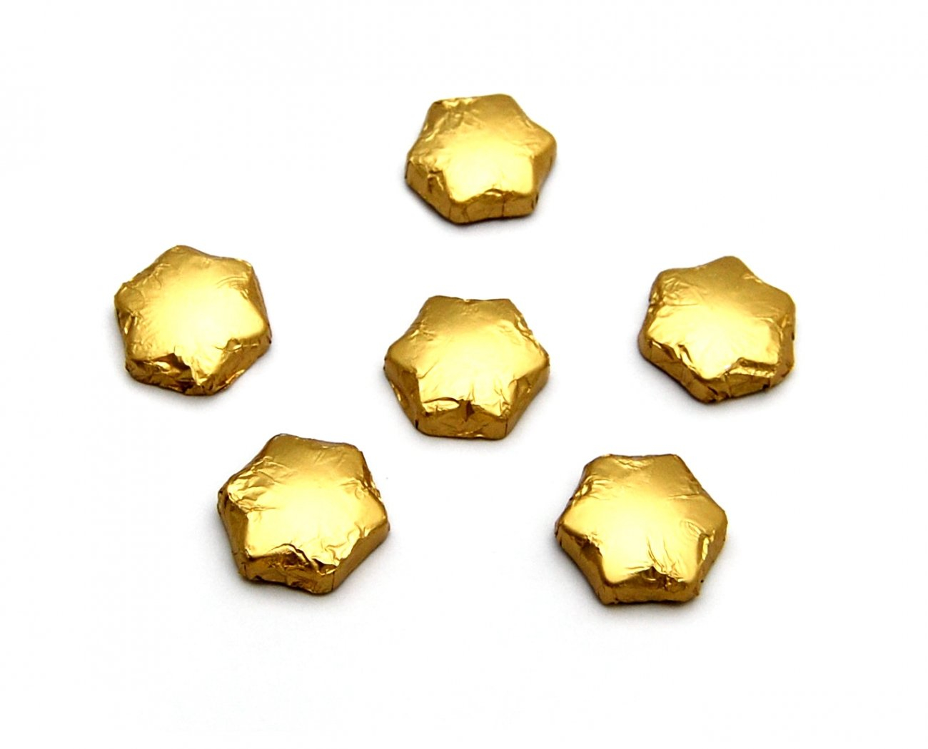 Chocolate Stars Gold