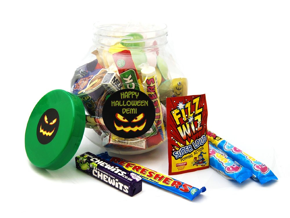 Spooky Jar | Personalised Sweets | Keep It Sweet