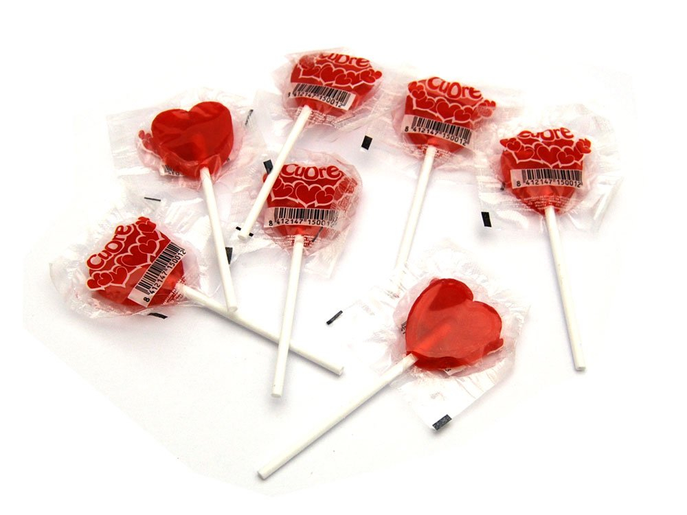 Small Heart Lolly