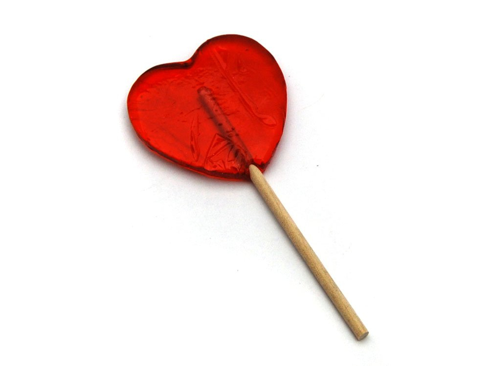 Large Heart Lolly