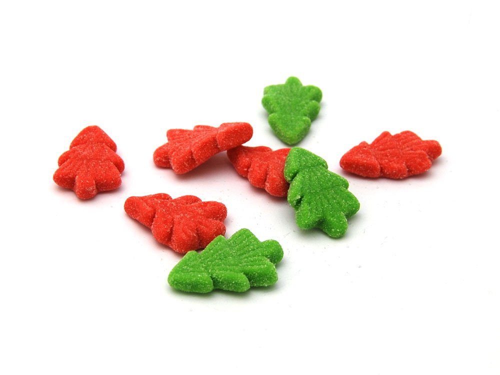 Fizzy Christmas Trees