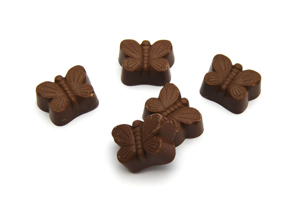 Milk Chocolate Butterflies