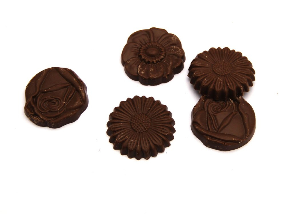 Milk Chocolate Flowers