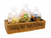 Mini Candy Crate Rustic