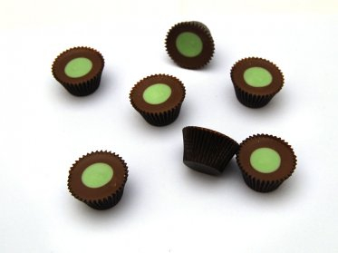 Mint Chocolate Cups