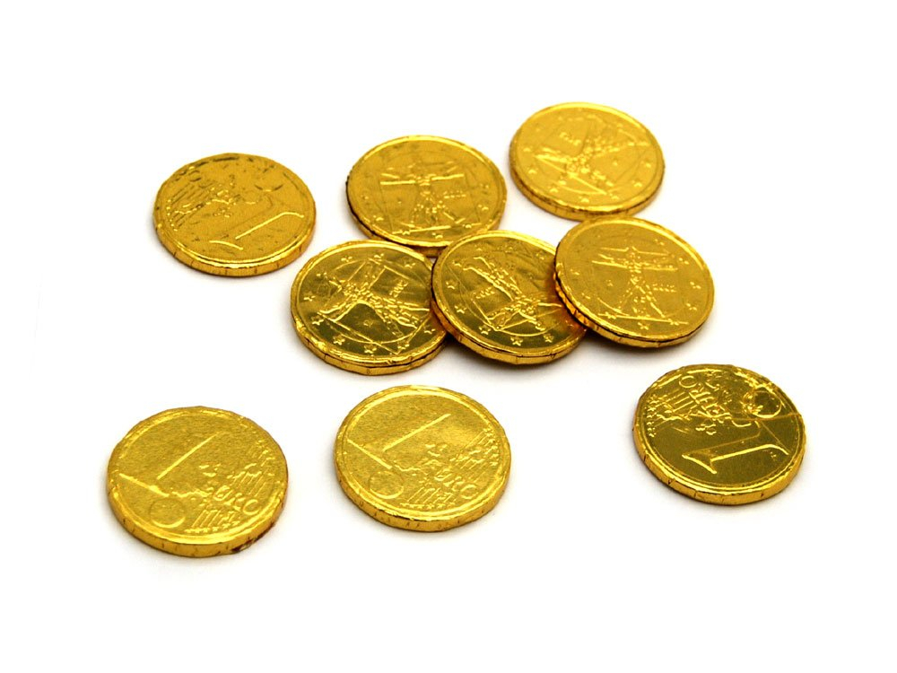 Chocolate Coins Gold Mixed