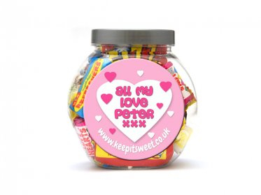 Love Personalised Jar Small