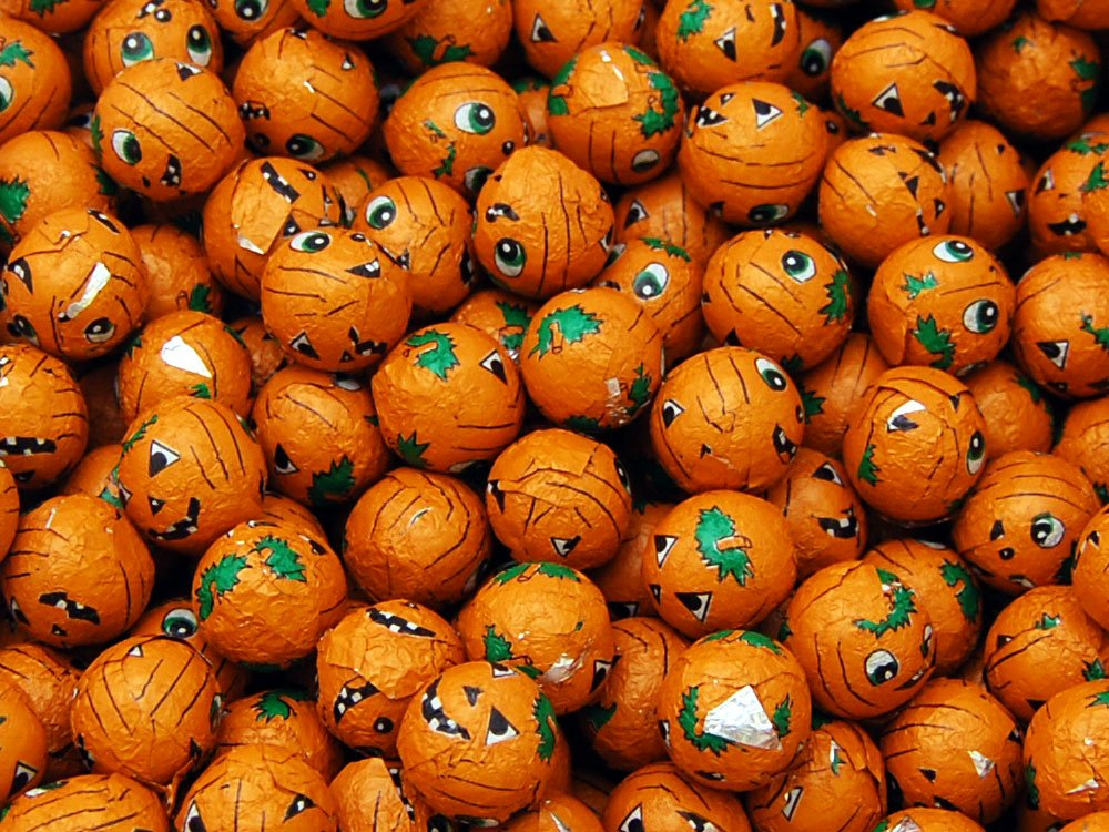 Milk Chocolate Pumpkins