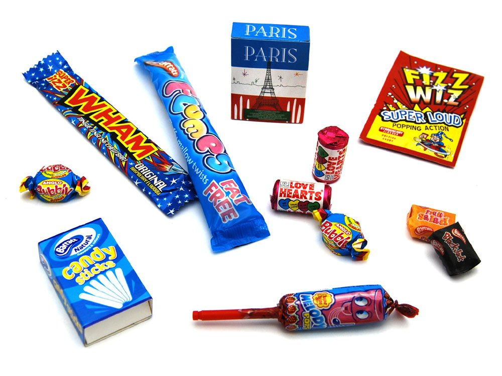 All Retro Sweets