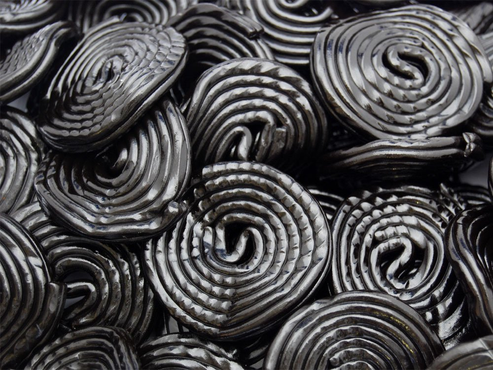 Rotella Liquorice Wheels