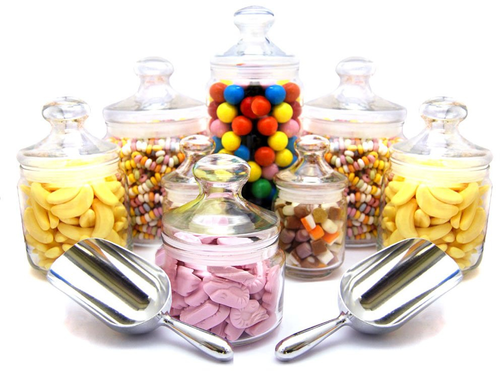 Sweet Bar | Glass Sweet Jars | Keep It Sweet