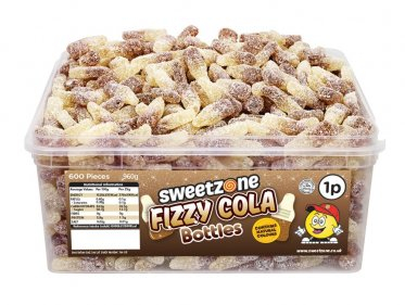 Fizzy Cola Bottles Tub