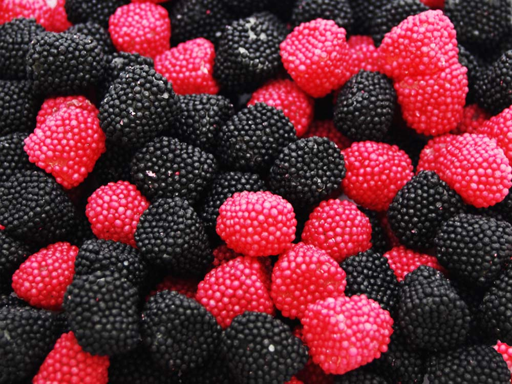 Blackberries & Raspberries Gummy Sweets | Keep It Sweet