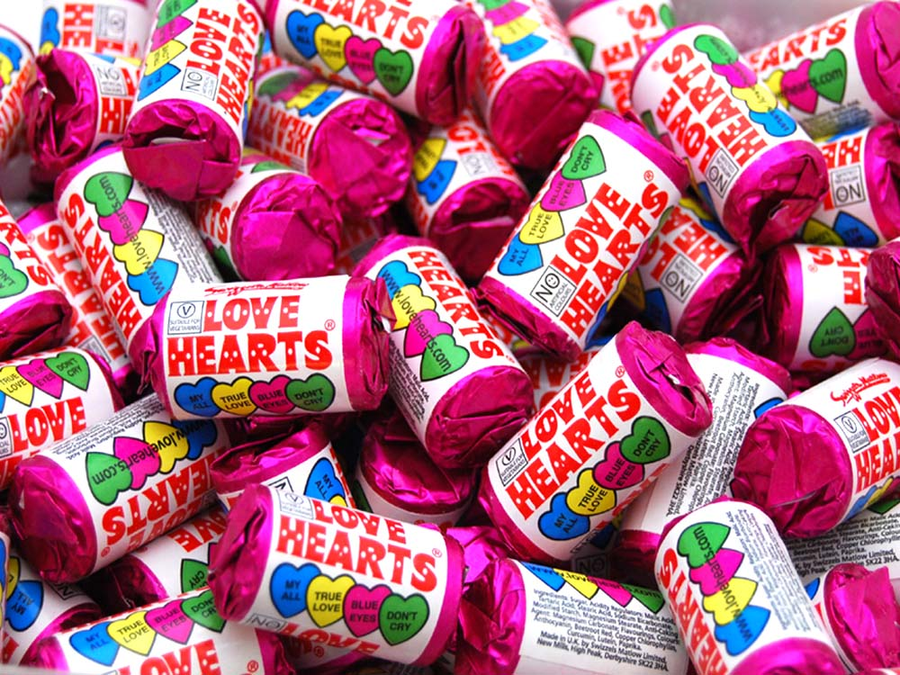 Mini Love Hearts Rolls Keep It Sweet