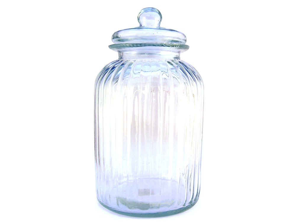 Boutique Glass Sweet Jar 5ltr